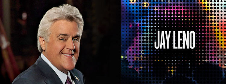 Jay Leno appears as part of Carnival Live this spring.