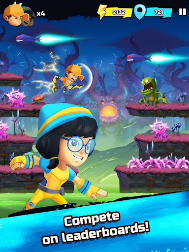 BoBoiBoy Galaxy Run: Fight Aliens to Defend Earth! 1.0.5d screenshots 10