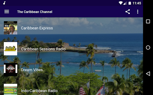The Caribbean Channel - Live Radios! Screenshot