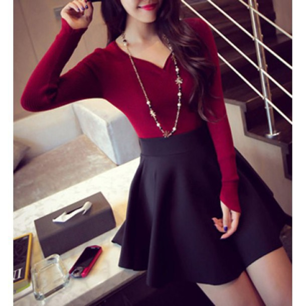 Image result for adorable red outfit