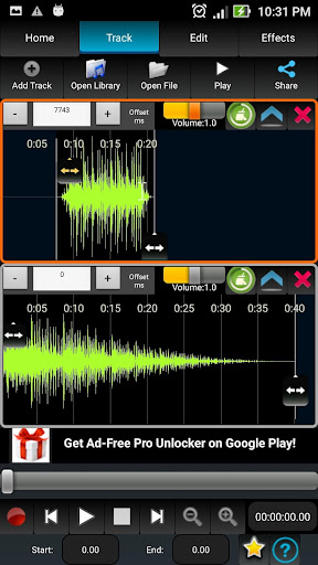 AudioDroid : Audio Mix Studio 2.8.3 screenshots 3