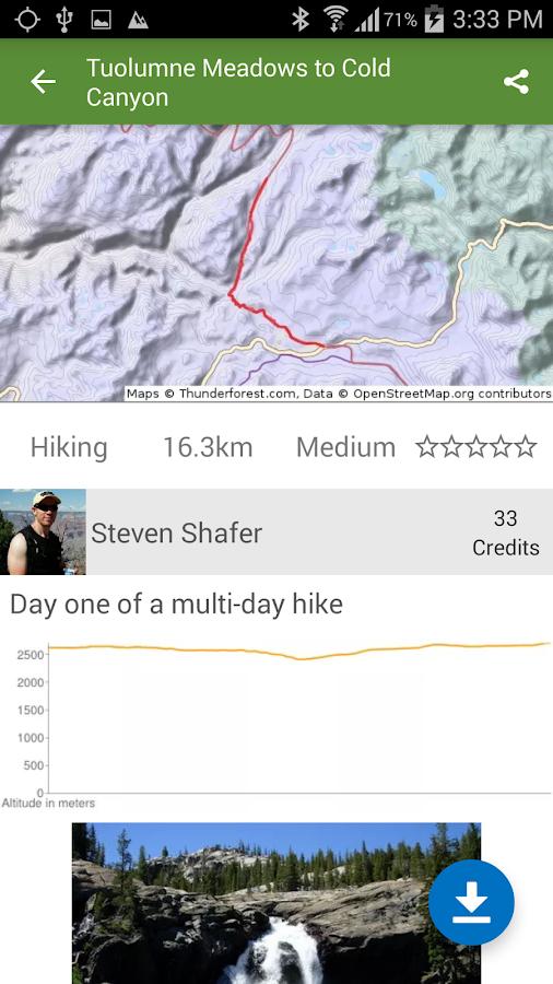 ViewRanger GPS - Trails & Maps - screenshot