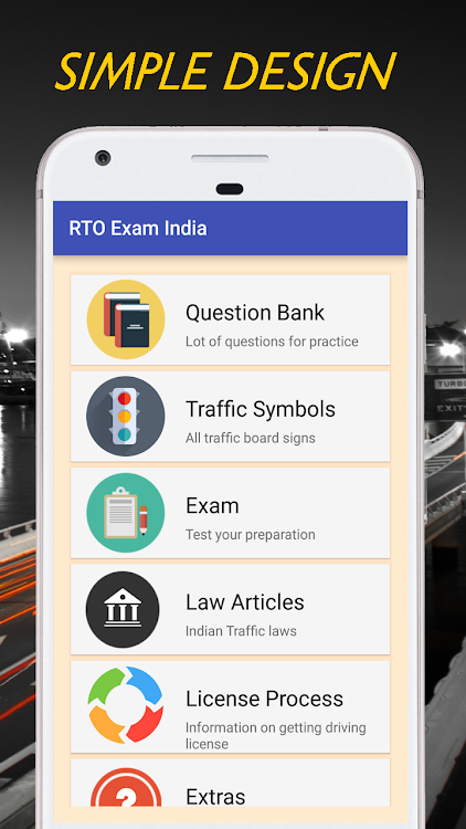 Driving License Exam - India – (Android Apps) — AppAgg