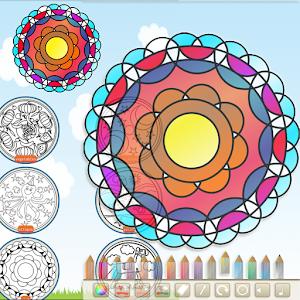 Mandalas Coloring for PC and MAC