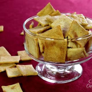 Sourdough Cheese Crackers