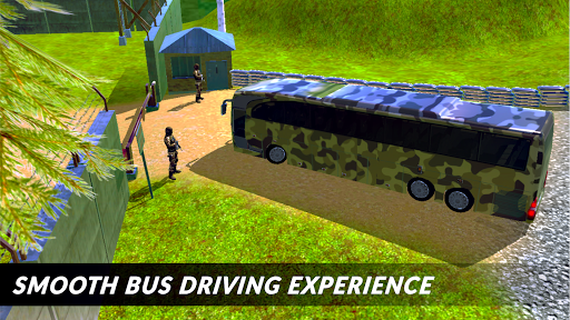 Off-road Army Bus: Army Driver Bus Simulator 1.0 screenshots 2