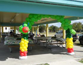 Photo: Hungry Caterpillar Theme  Balloon Arch