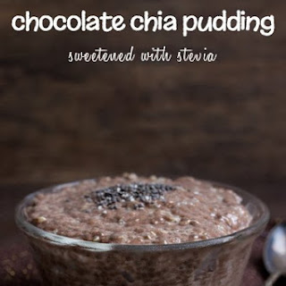 Chocolate Chia Pudding.
