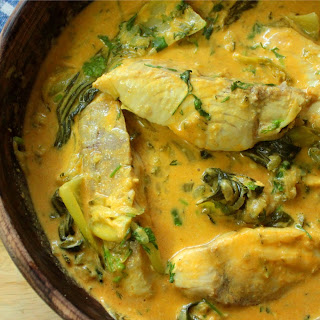 Thai Fish Curry - Yellow Thai Curry Recipe