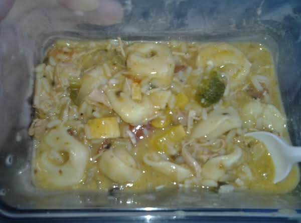 Turkey Tortellini Soup Recipe