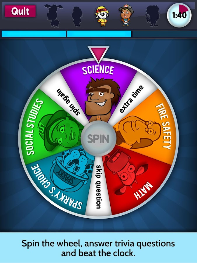 Sparky's Brain Busters- screenshot