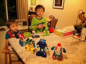 Photo: Boys and Bots