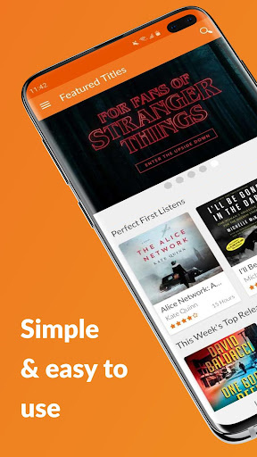 Audiobooks.com - Audiobooks and Podcast App 6.02 screenshots 1