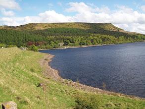 Photo: Ladybower Reservoir and Bamford Edge