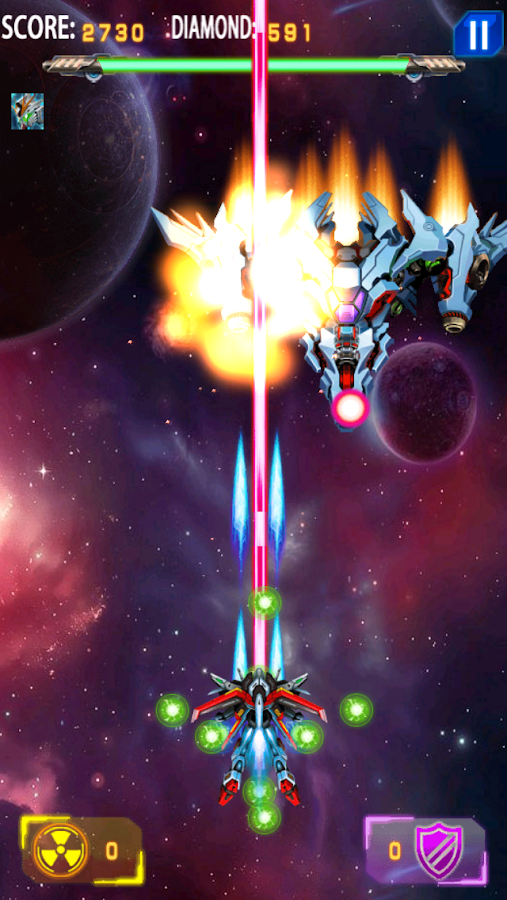 Galaxy Fighters Arcade Free- screenshot