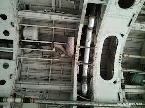 Photo: Vulcan B2 XH558 (inside the bomb bay)
