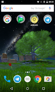 Nature Tree premium live wallpaper - náhled