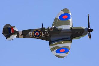 Photo: Supermarine Spitfire Mk IX (replika)