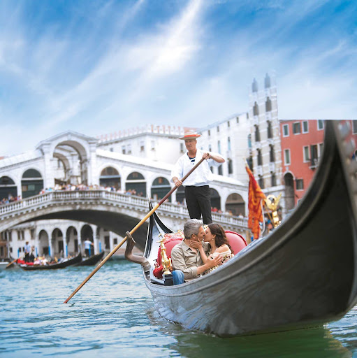 Venice.jpg - Find romance during an iconic gondola ride through the canals of Venice.