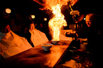 """Photo: This photo appeared in an article on my blog on Apr 25, 2013. この写真は4月25日ブログの記事に載りました。 """"""""Idiot for Noodles"""", Kyoto Ramen You Won't Forget"""" http://regex.info/blog/2013-04-25/2250"""