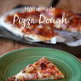 Homemade Pizza Dough Recipe
