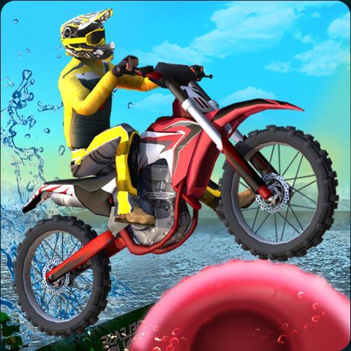 自転車マスター3D 賽車遊戲 LOGO-玩APPs