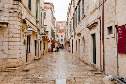 Dubrovnik-street.jpg - One of the charming cobblestone streets in Old Dubrovnik.