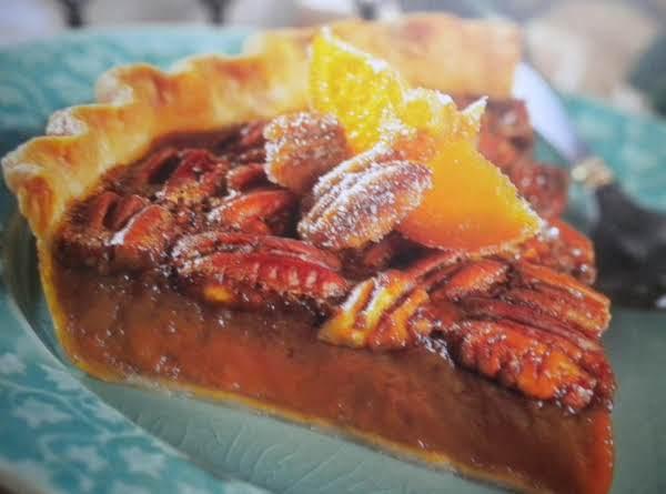 Orange Pecan Pie Recipe