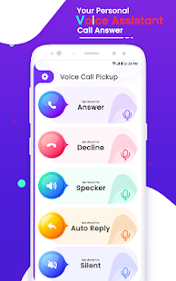 Voice Call Pickup - Pickup Call With Voice Command Screenshot