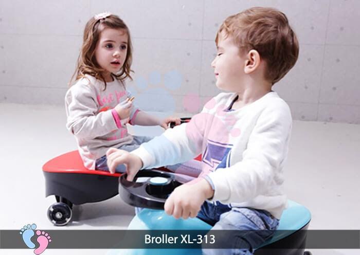 Xe lắc cho bé Broller XL 313 5