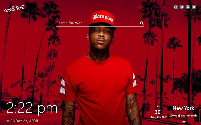 YG HD Wallpapers Hip Hop Music New Tab Theme