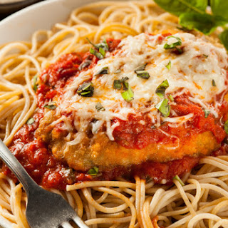 1. Baked Chicken Parmesan.