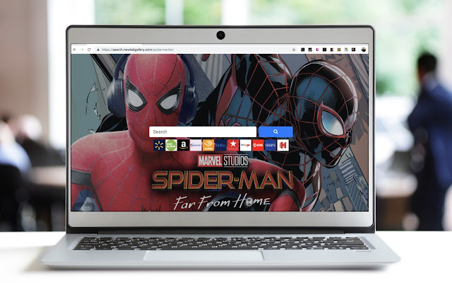 Spider Man Far From Home Search
