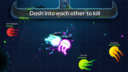 Jellies.io Deep Oceanwar - screenshot