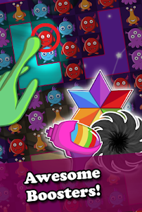 Cute Aliens - Match 3 Invasion- screenshot thumbnail