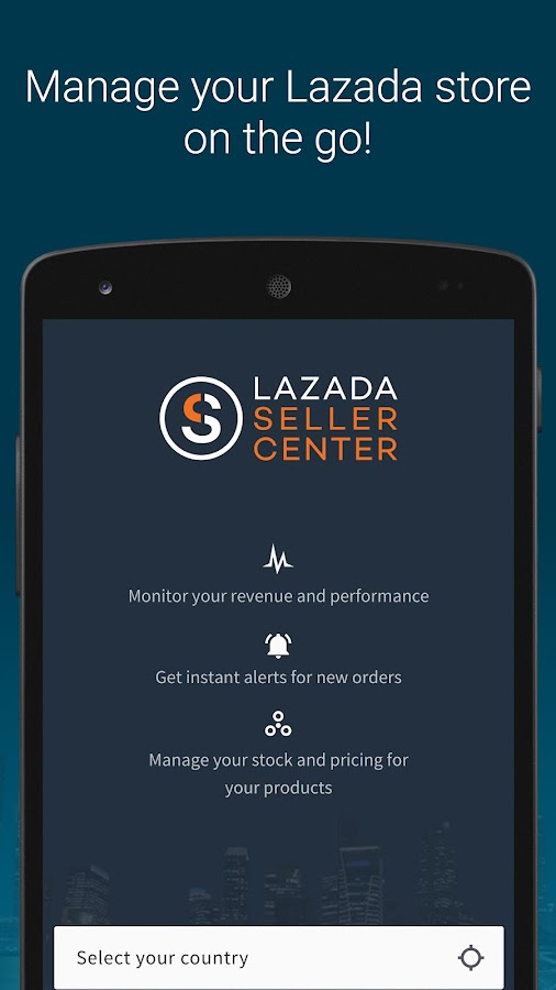 Lazada Seller Center- screenshot