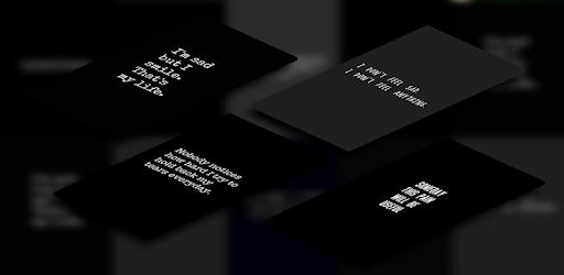 Sad Quote Wallpaper Dark Background التطبيقات على Google Play