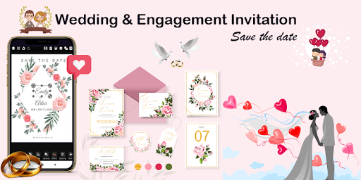 Invitation maker 2020 Birthday & Wedding card Free screenshot 3