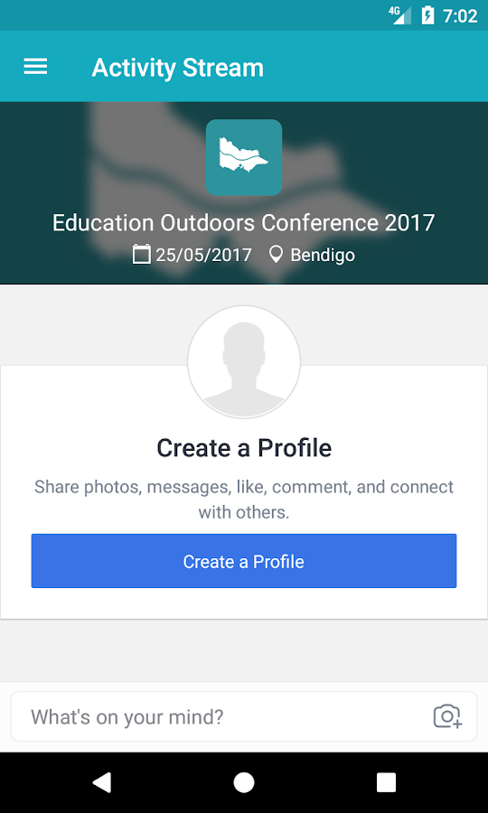 Education Outdoors Conference- screenshot