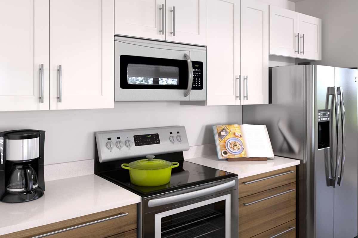 One Bedroom Floorplan 1 Bed 1 Bath Second And Delaware Apartments In Kansas City Missouri
