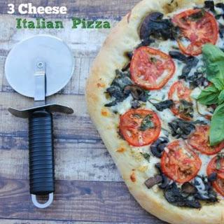 3 Cheese Italian Pizza