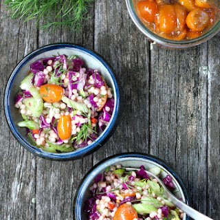 Toasted Couscous Salad with Fennel & Kumquats