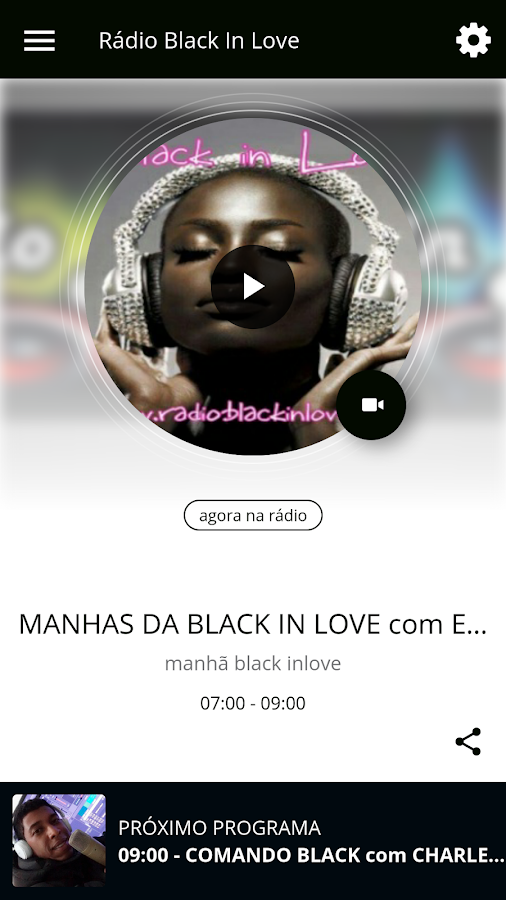 Rádio Black In Love- screenshot