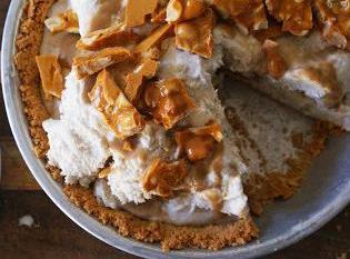 Peanut Brittle Pie Recipe
