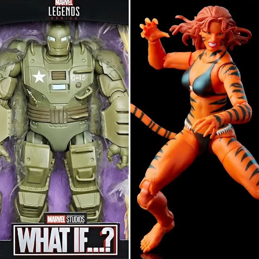Marvel Legends Tigra Retro Figure & What If? Hydra Stomper Up for Order!