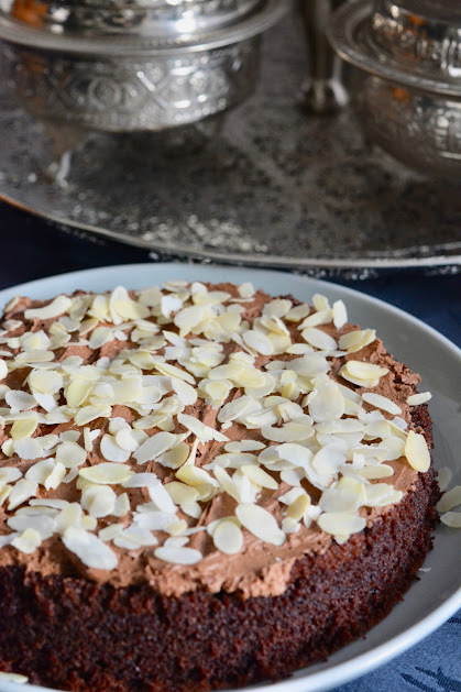 Chocoladecake safranaargana