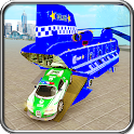 Police Plane Transport Cargo: Ultimate Cargo Drive icon