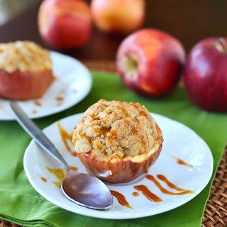 Apple Crunch Pie Apple Cups