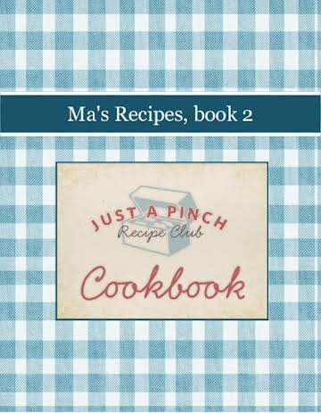 Ma's Recipes, book 2