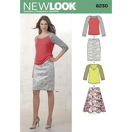 Tröja och och kjol, New Look 6230